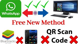 Gambar cover How to install Whatsapp on PC laptop without smart phone | Without  Bluestacks | Without  QR Code
