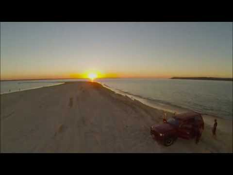 Aerial - Inskip point, Queensland Australia