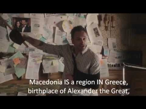 Sherlock sums up the political dispute over the name Macedonia