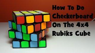 Gambar cover How To Do Checkerboard On The 4x4 Rubik's Cube-Tutorial[Cubing Ninja]