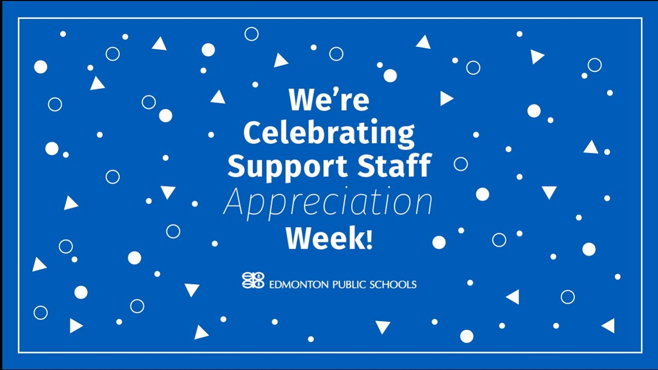 support staff appreciation week youtube