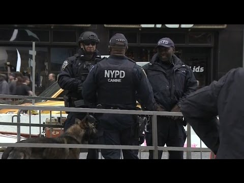 New York City Police Department spends $7mln on new military-style gear