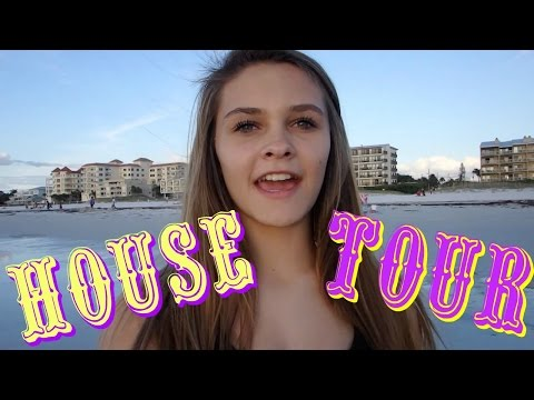 HOUSE TOUR FLORIDA | WHAT DOES EMMA DO IN THE WATER | Emma & Ellie