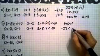 Алгебра 9 кл. Мордкович. Параграф 1.1.