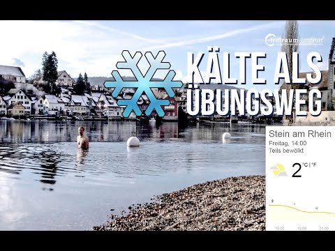 Bei 2° im Rhein - Kälte & Kältetraining als Übungsweg