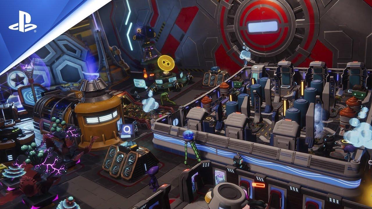 Spacebase Startopia | Gameplay Trailer | PS4