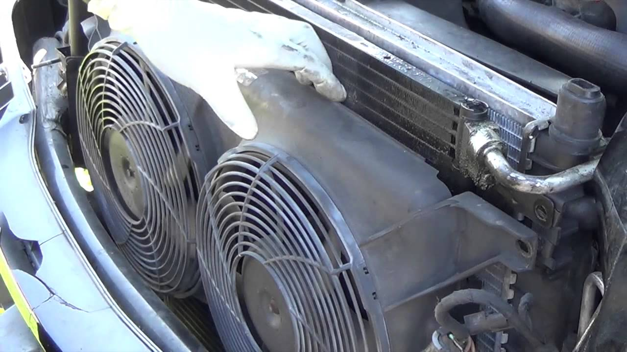 How To Mercedes Benz Ml320 Radiator Replacement Youtube