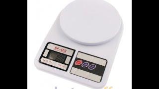 Электронные кухонные весы SF-400 7 кг. Видеообзор весов от Electronoff