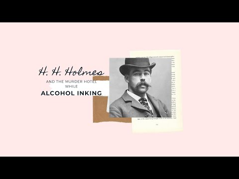 Download The crimes of H. H.  Holmes and Alcohol Inking