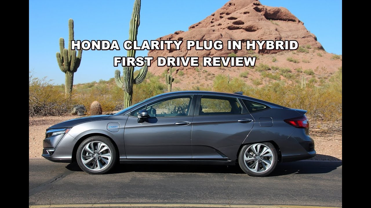 2018 honda clarity plug in hybrid first drive review youtube. Black Bedroom Furniture Sets. Home Design Ideas