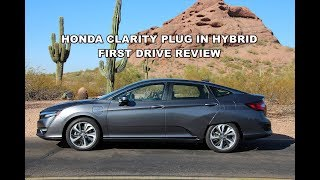 2018 Honda Clarity Plug in Hybrid First Drive Review