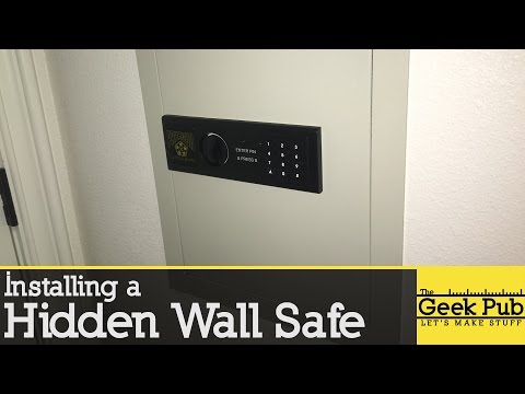 Install a Hidden Wall Safe