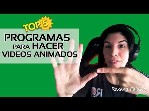 PROGRAMAS para hacer VÍDEOS ANIMADOS 🔥