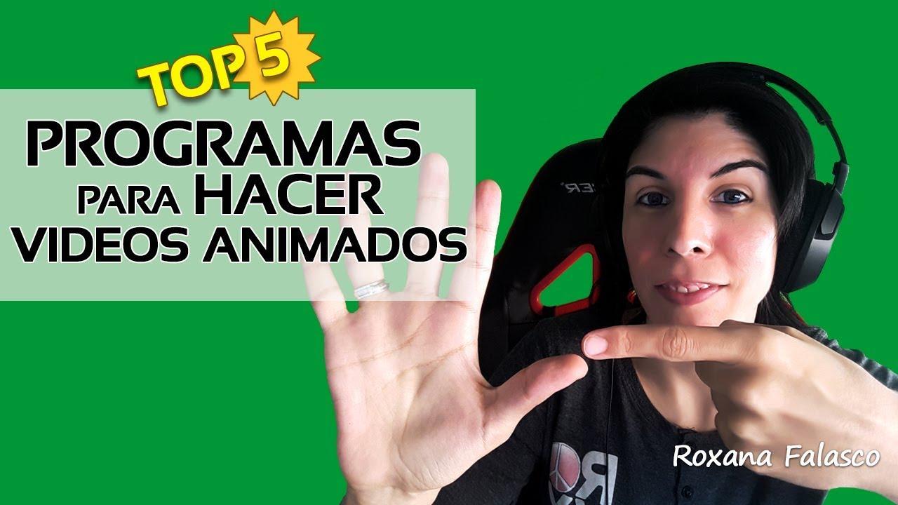 Programas Para Hacer Videos Animados Youtube