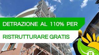 Bozza ECOBONUS al 110% - come RISTRUTTURARE GRATIS [⚠️FORSE⚠️]- #200