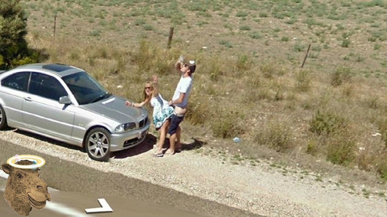 Google Maps Nudity Ban Flouted As Couple Get Very Frisky In Public