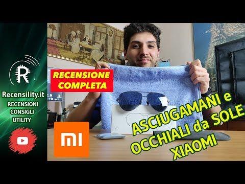 Recensione Xiaomi Asciugamani e occhiali da sole