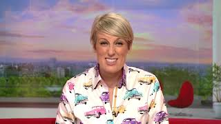 BBC's Lovely Steph McGovern Sends Brilliant Message to Erase Meso Cycle Challenge Team