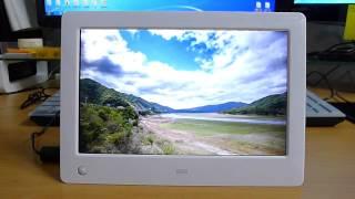 HD급 디지털액자 카멜 PF8030HD