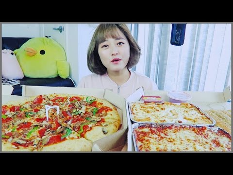 [Carry-Out ep.2] Pizza Hut Mukbang!