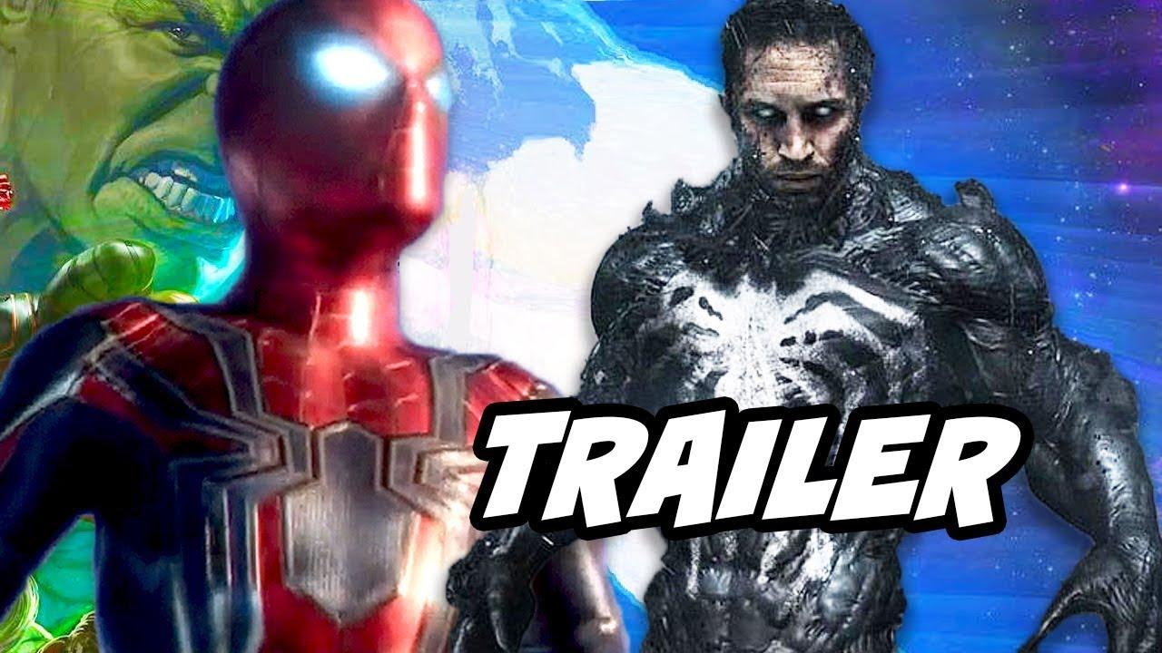 Spider-Man Venom Trailer - Marvel Easter Eggs and Avengers ...