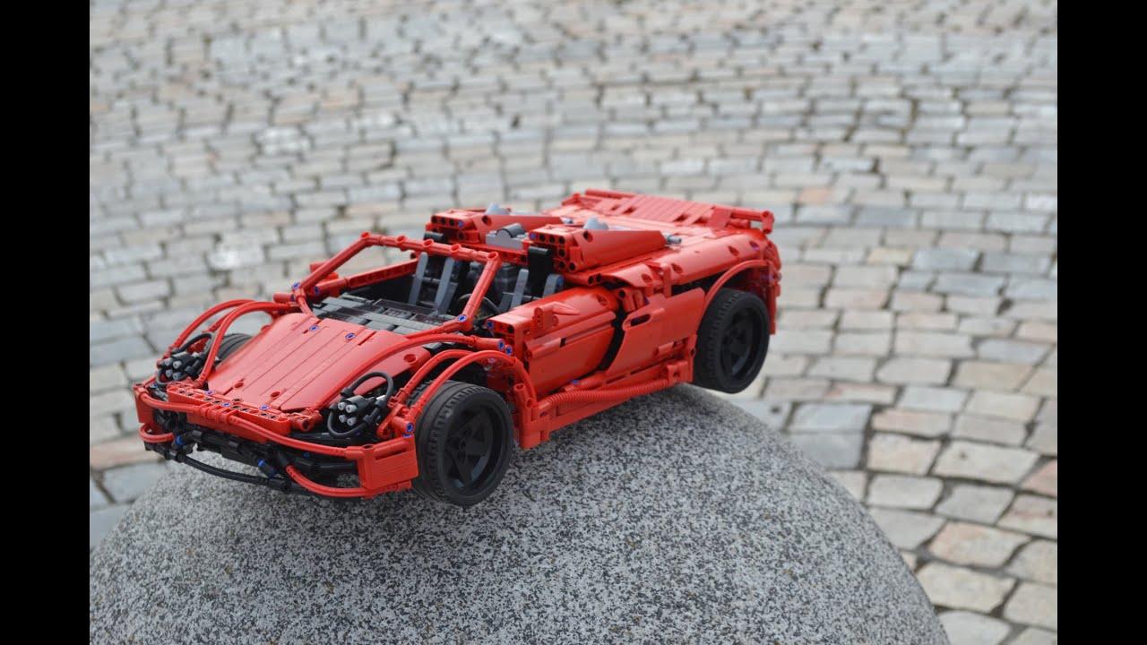Lego Porsche 918 Spyder 1 10 Youtube