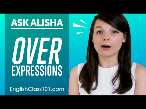 Expressions with OVER: