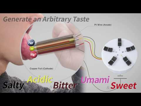 [CHI2020] Norimaki Synthesizer: Taste Display Using Ion Electrophoresis in Five Gels
