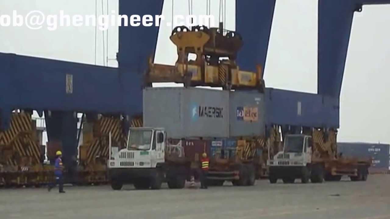 Puertos de exportacion como carga y descarga al barcos los contenedores en puertos youtube - Contenedores de barco ...