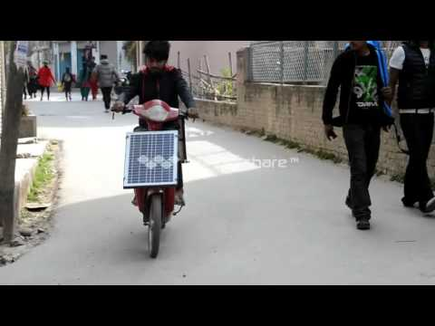 First solar skuti in nepal