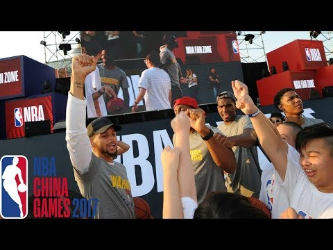 Warriors & Timberwolves All-Access China | NBA Global Games 2017