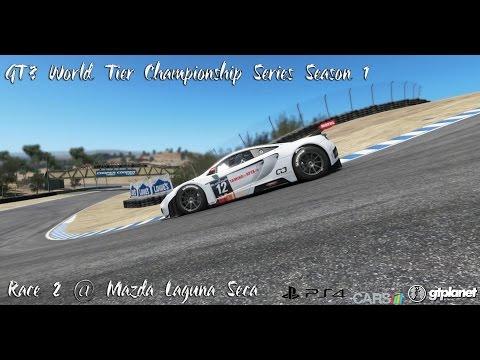 GT3 World Tier Championship Series Season 1   Race 2 @ Mazda Raceway Laguna Seca
