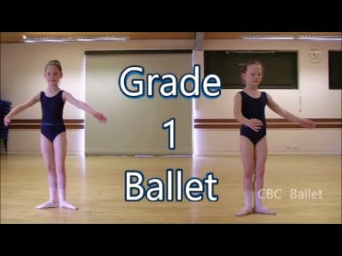 Grade 1  mock exam - ballet (7 year olds)