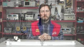 Принцип роботи люмінесцентної лампи