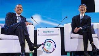 Cuộc đối thoại giữa tổng thống obama và tỷ phú Jack Ma