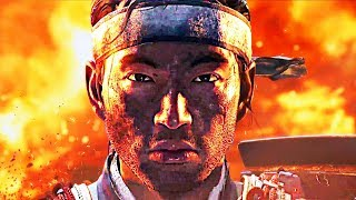 GHOST OF TSUSHIMA Trailer (2018) PS4 - PGW
