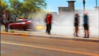 RICER BLOWS MOTOR AT SCOTTSDALE CARS AND COFFEE!!! MAY 2017  - CAR VIEWS