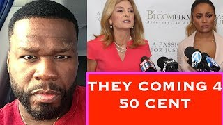 TEAIRRA MARI IS MAD 50 CENT EXPOSED HER & HIRED LISA BLOOM TO COME AFTER 50 CENT