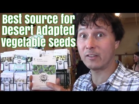 Best Source for Desert Adapted Vegetable Seeds