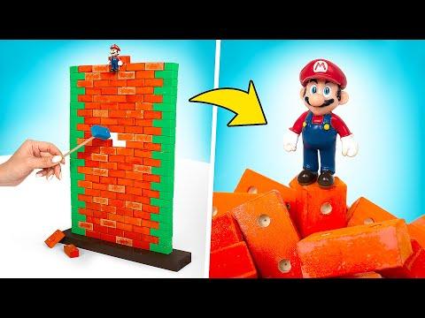 Настоящая настольная игра Super Mario