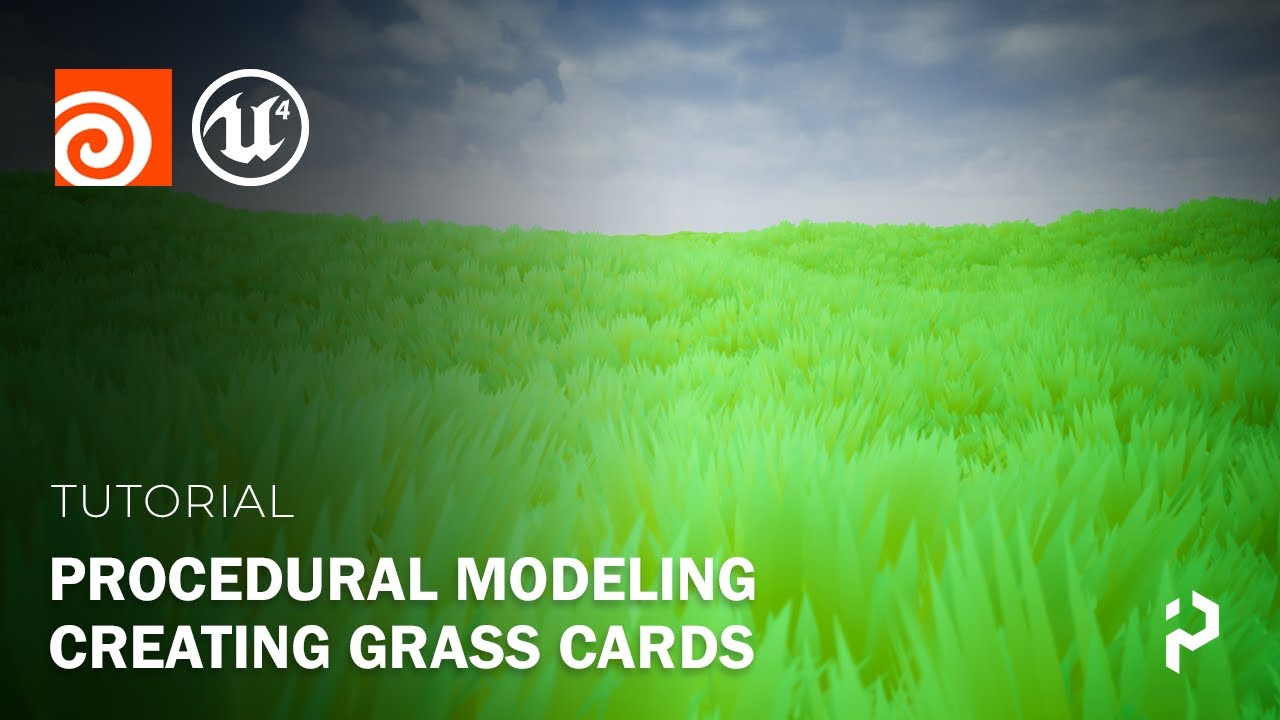 Houdini 18.5 - Procedural Grass Cards