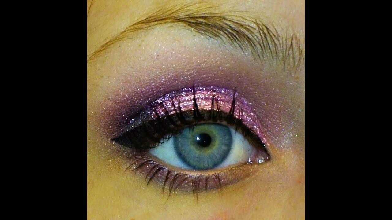 Glitter for eye makeup