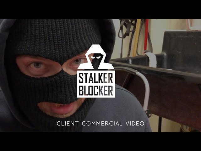 Stalker Blocker Mic Block Commercial Video - Made by Envy Creative