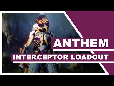 ANTHEM (PC) - FASTEST Interceptor Build (Spark Dash is SEXY!)