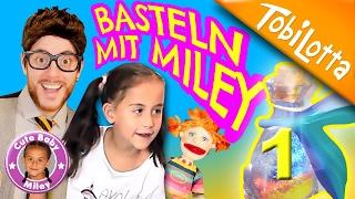 BASTELN mit Miley 1-Glücksbringer DIY EP.2 kinderkanal cutebabymiley basteln Tobilotta 49