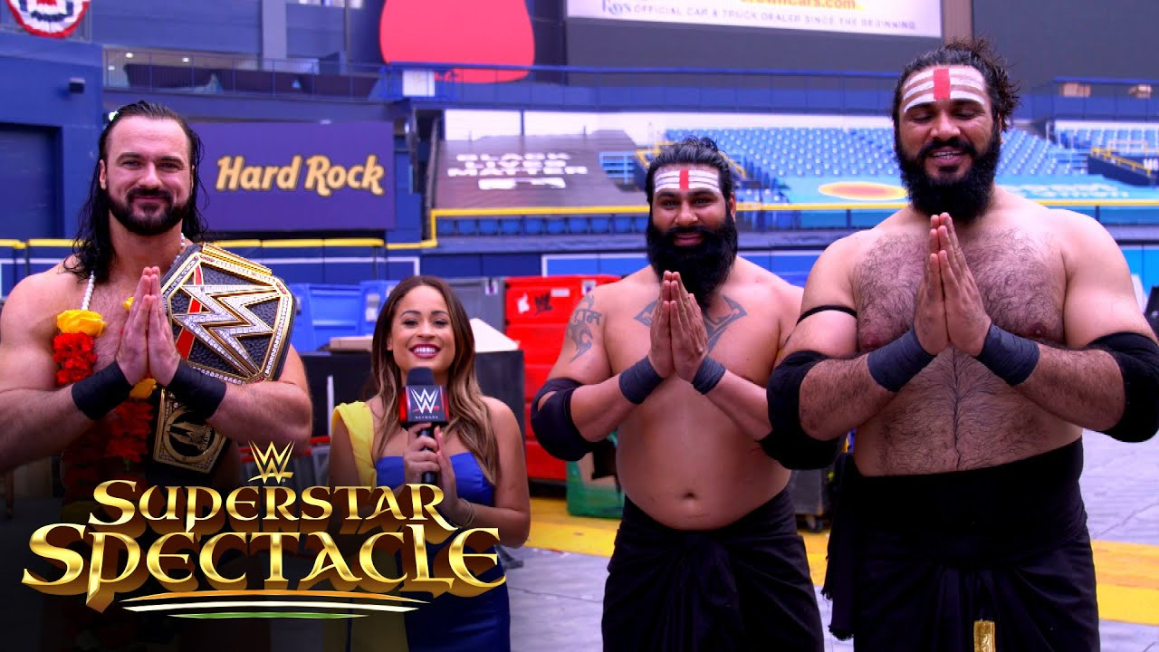 Indus Sher honored to share the ring with Drew McIntyre: WWE Network Exclusive, Jan. 26, 2021