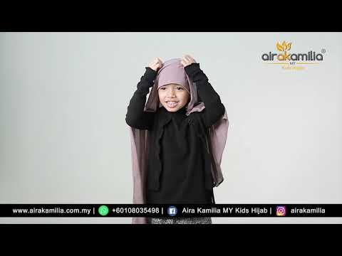 NEW KIDS SHAWL BY AIRA KAMILIA