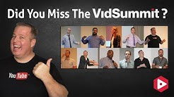 Get Access to the VidSummit Replays