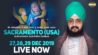Live Streaming | G. Dashmesh Darbar | USA | 29.Dec.2019 | Dhadrianwale