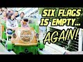 Magic Mountain is Empty AGAIN | CraZanity Update, Poop Emojis and Twisted Colossus
